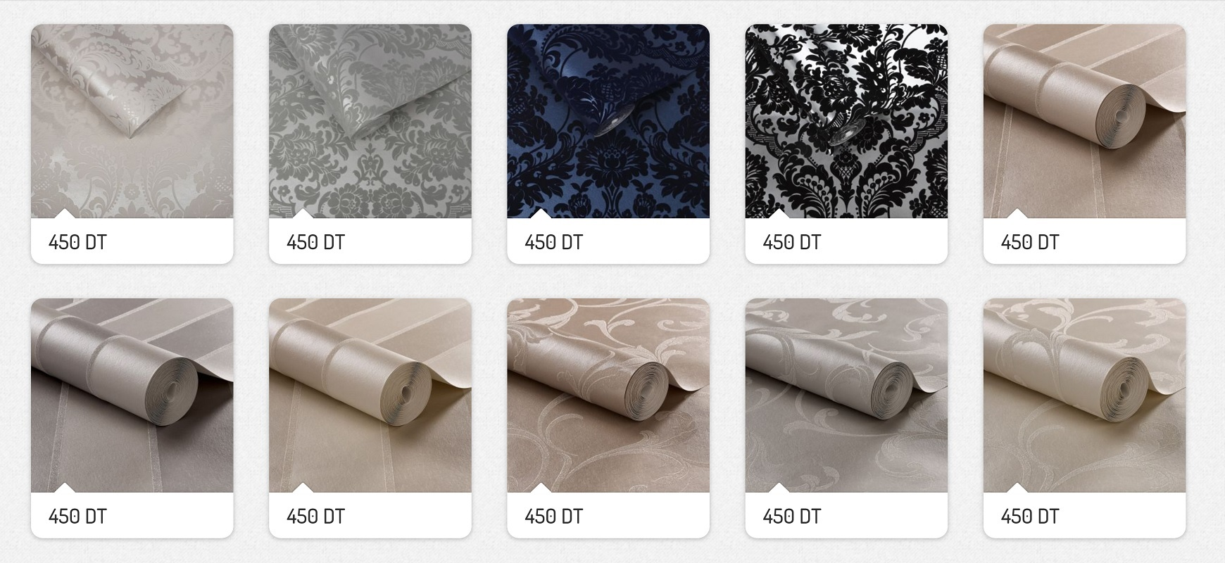 Nouvelle Collection Papiers Peints Haut de Gamme Made in UK