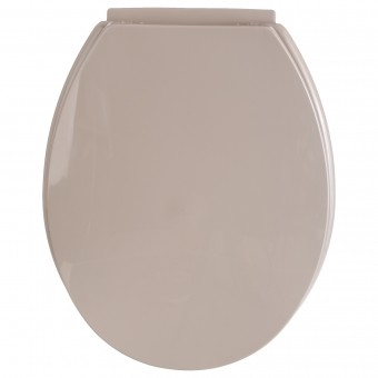 ABATTANT WC PP TAUPE