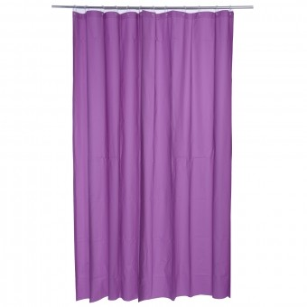 S5-RIDEAU DOUCHE POLYESTER VIOLET