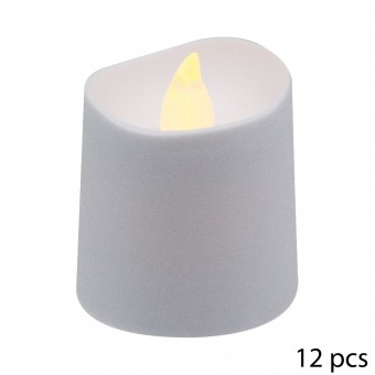 S7-12 BOUGIES LED VOTIVE D4CM