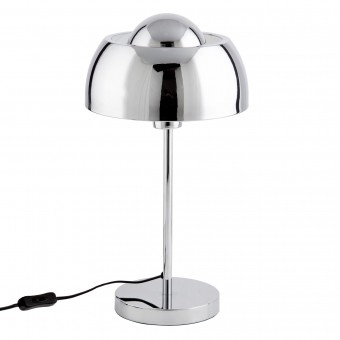 LAMPE METAL CHROME HANK H45CM
