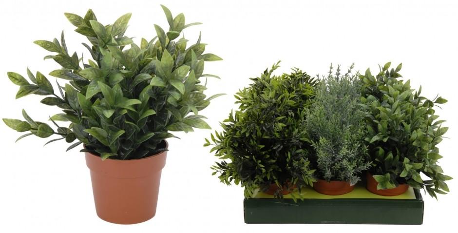 Luxe decors plante artificiel 25 4 cm for Vente plantes artificielles tunisie