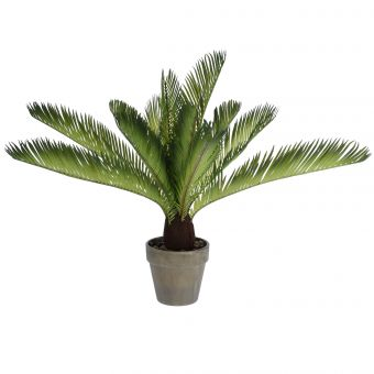 FOUGERE ARTIFICIELLE EN POT H50CM